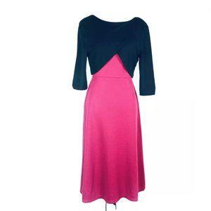 ASOS Womens Size 10 Fuchsia A Line Dress